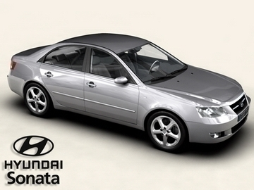 hyundai sonata 3d model 3ds max obj 81568