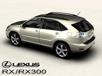 lexus rx300 2004 3d model 3ds max obj 81596