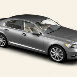 Lexus LS 460 ( 93.87KB jpg by Behr_Bros. )