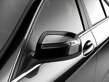 mercedes c class 2008 – elegance line 3d model 3ds lwo ma mb obj 85920