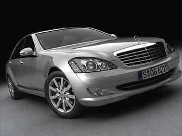 mercedes s klasa 2006 3d model 3ds lwo ma mb obj 85925