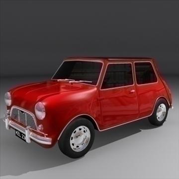 mini cooper 3d model max 92406