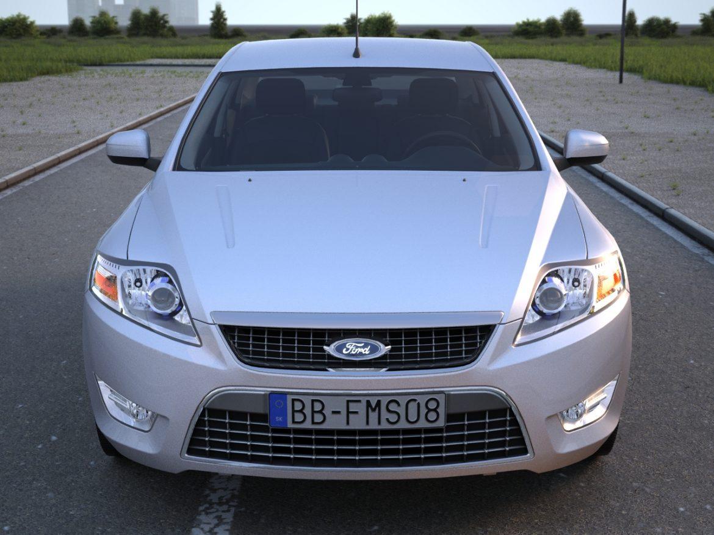 mondeo sedan (2009) 3d model 3ds max fbx c4d obj 88620
