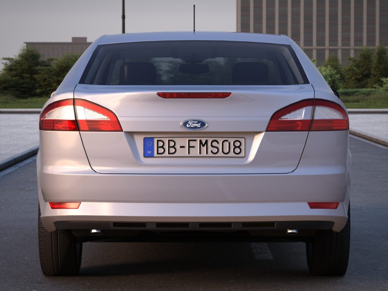 mondeo sedan (2009) 3d model 3ds max fbx c4d obj 88622