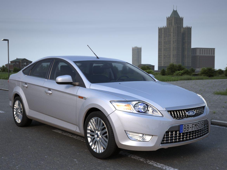 mondeo sedan (2009) 3d model 3ds max fbx c4d obj 88623