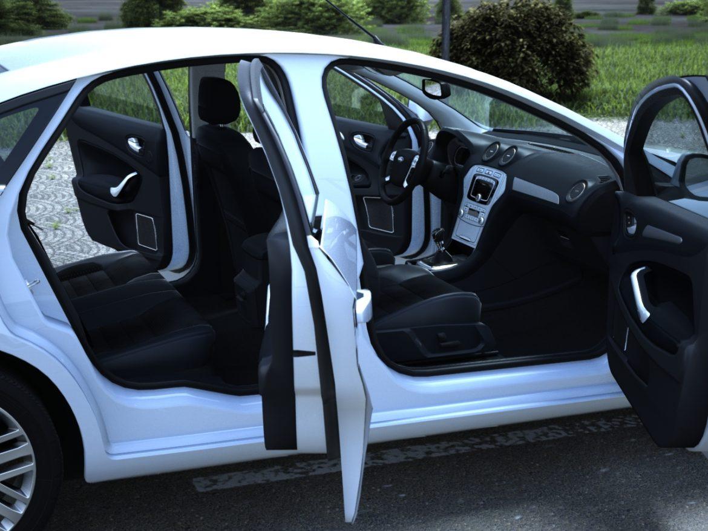 mondeo sedan (2009) 3d model 3ds max fbx c4d obj 88625
