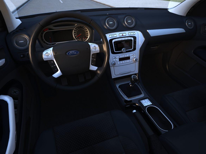 mondeo sedan (2009) 3d model 3ds max fbx c4d obj 88626