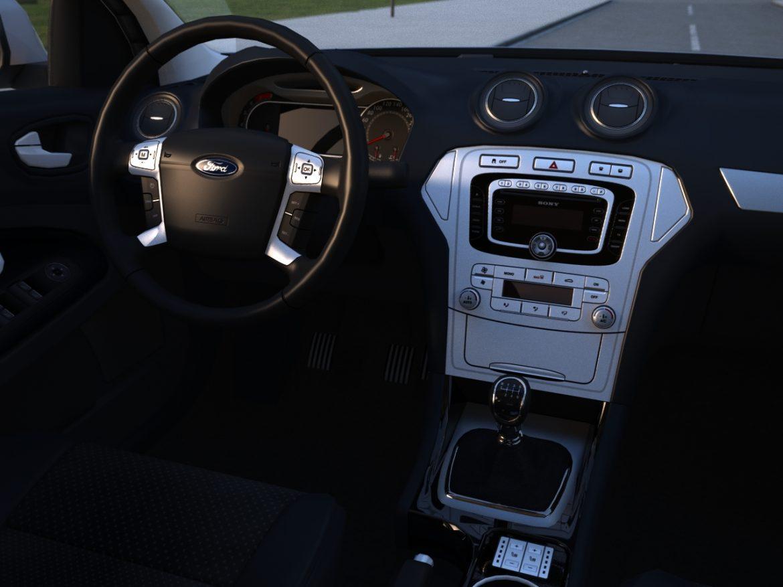 mondeo sedan (2009) 3d model 3ds max fbx c4d obj 88627