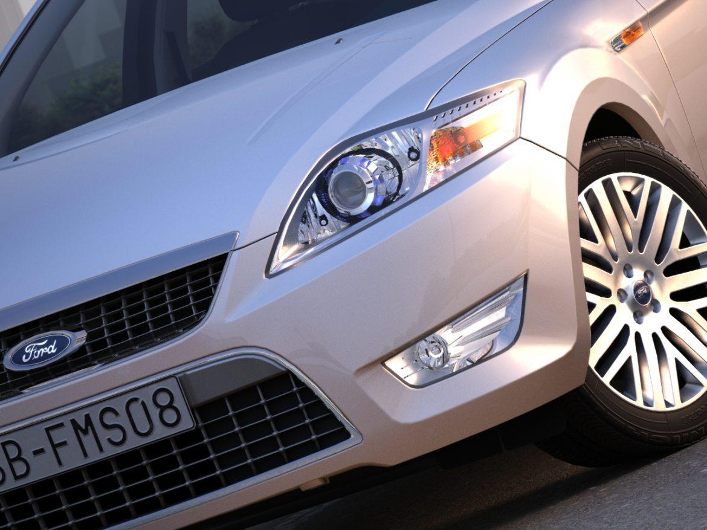 mondeo sedan (2009) 3d model 3ds max fbx c4d obj 88628