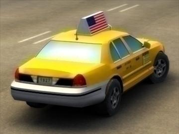 nyc_taxi a_ 3d model 3ds max fbx lwo ma mb hrc xsi texture wrl wrz obj 99270