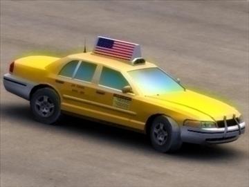 nyc_taxi a_ 3d model 3ds max fbx lwo ma mb hrc xsi texture wrl wrz obj 99271