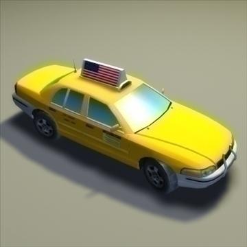 nyc_taxi a_ 3d model 3ds max fbx lwo ma mb hrc xsi texture wrl wrz obj 99275