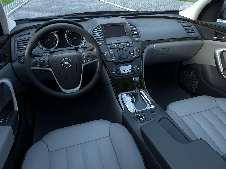Opel insignia íþrótta ferðamaður (2009) 3d líkan 3ds max fbx c4d obj 103622