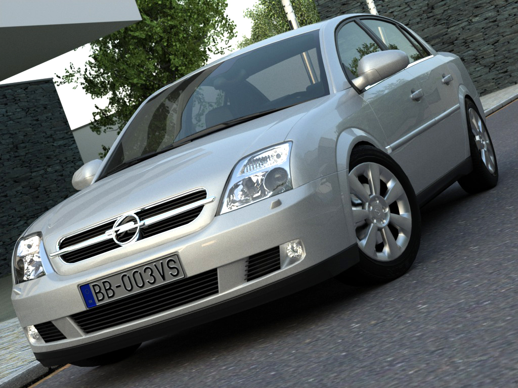 opel vectra (2003) 3d model 3ds max fbx c4d obj 84555