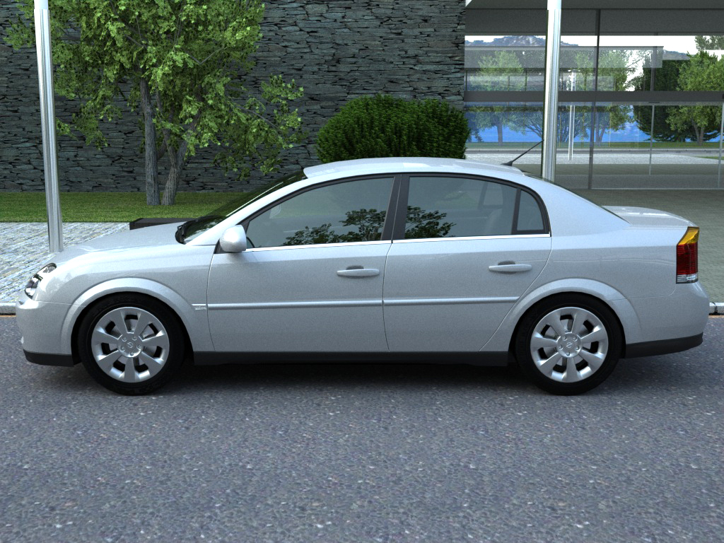opel vectra (2003) 3d model 3ds max fbx c4d obj 84559