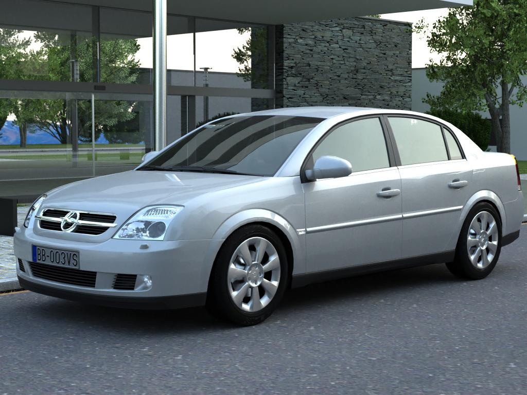 opel vectra (2003) 3d model 3ds max fbx c4d obj 84560