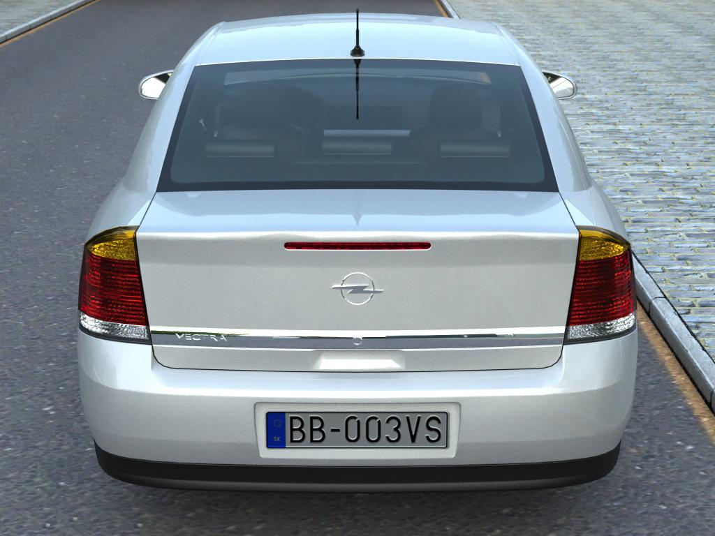 opel vectra (2003) 3d model 3ds max fbx c4d obj 84562