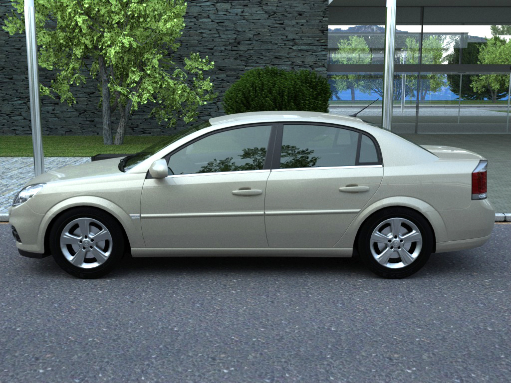 opel vectra (2006) 3d model 3ds max fbx c4d obj 84569