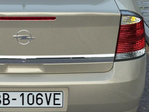 opel vectra (2006) 3d model 3ds max fbx c4d obj 84576