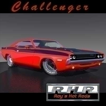 pro touring challenger 3d model lwo obj 81852