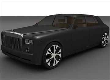 rolls royce phantom 3d model max 100194