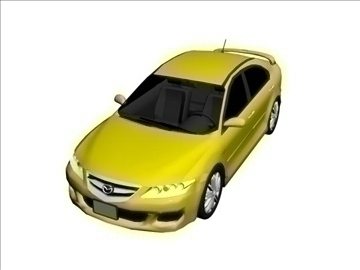 sedans 3d modelis max 94815