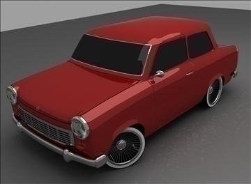 trabant 601 3d model max 100554