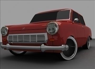 trabant 601 3d model max 100555