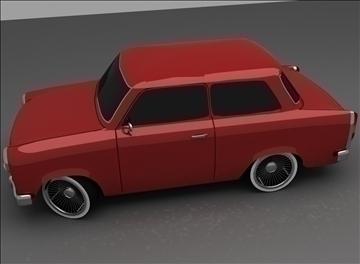 trabant 601 3d model max 100556