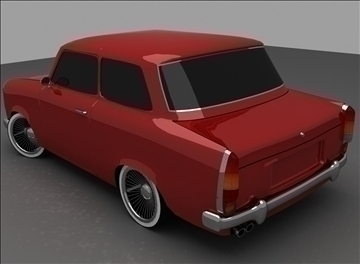 trabant 601 3d model max 100557