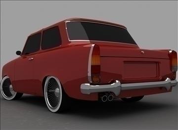 trabant 601 3d model max 100558