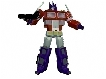 20th anniversary optimus prime replica 3d model ma mb 102232
