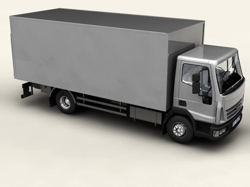 generic truck 3d model 3ds max obj 116009