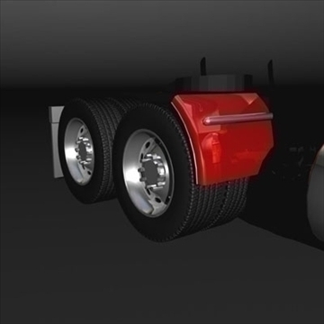 semi rig 3d model 3ds max fbx c4d lwo obj 109142