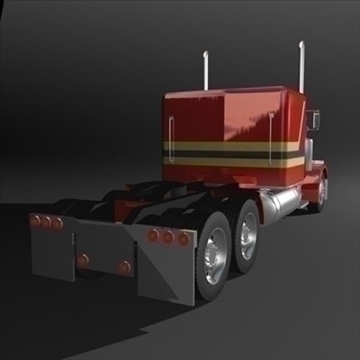 semi rig 3d model 3ds max fbx c4d lwo obj 109144