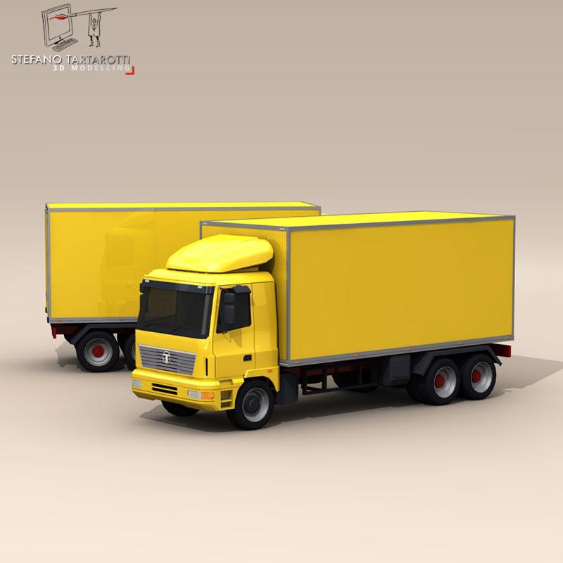 truck2 3d model 3ds dxf fbx c4d dae obj 85280