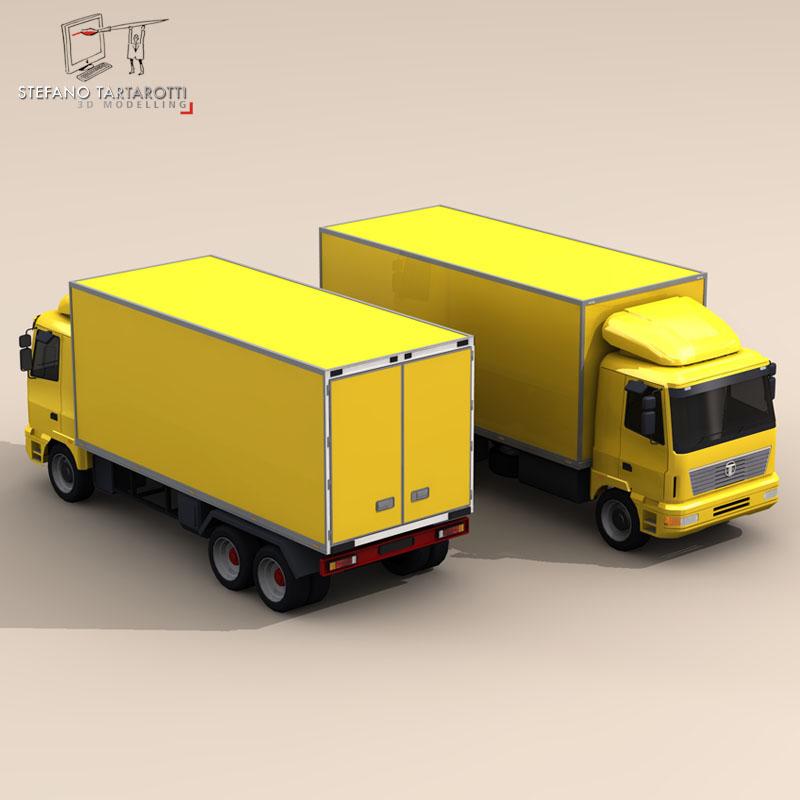 truck2 3d model 3ds dxf fbx c4d dae obj 85282
