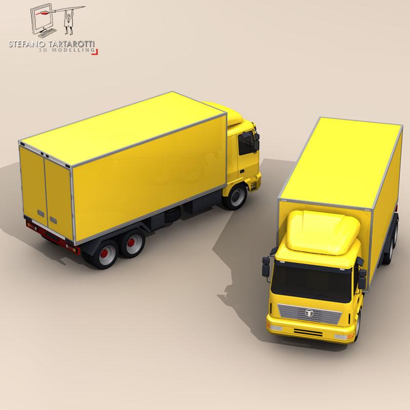 truck2 3d model 3ds dxf fbx c4d dae obj 85283