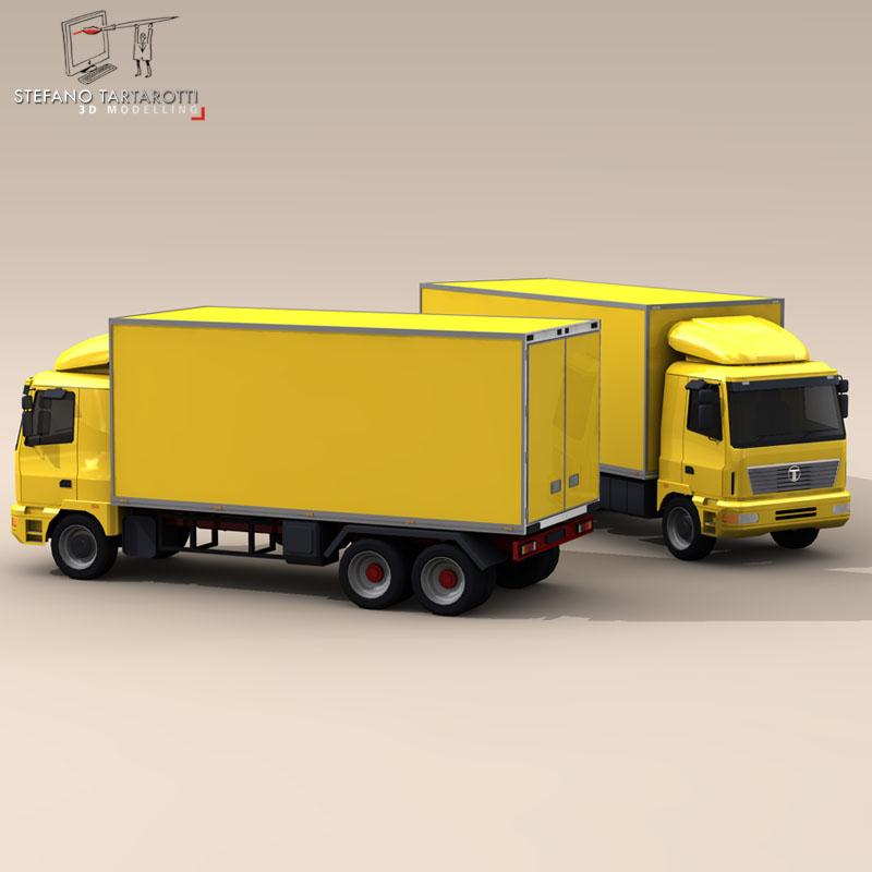 truck2 3d model 3ds dxf fbx c4d dae obj 85284