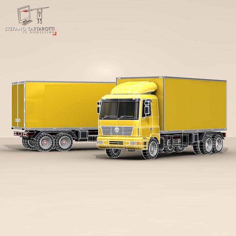 truck2 3d model 3ds dxf fbx c4d dae obj 85285