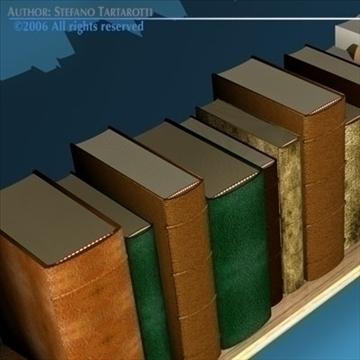 books shelf 3d model 3ds dxf c4d obj 81321