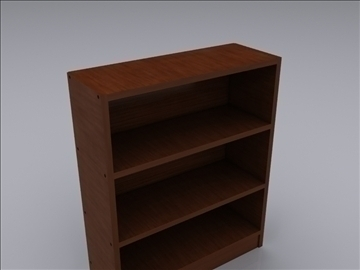 realistic shelves 3d model 3ds max fbx obj 93019