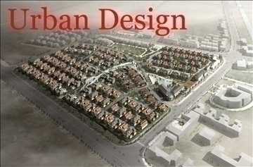 urban design 029 3d model 3ds max psd 91269