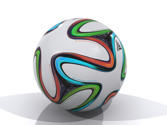adidas bazucra 3d official match ball world cup 3d model max fbx 163903