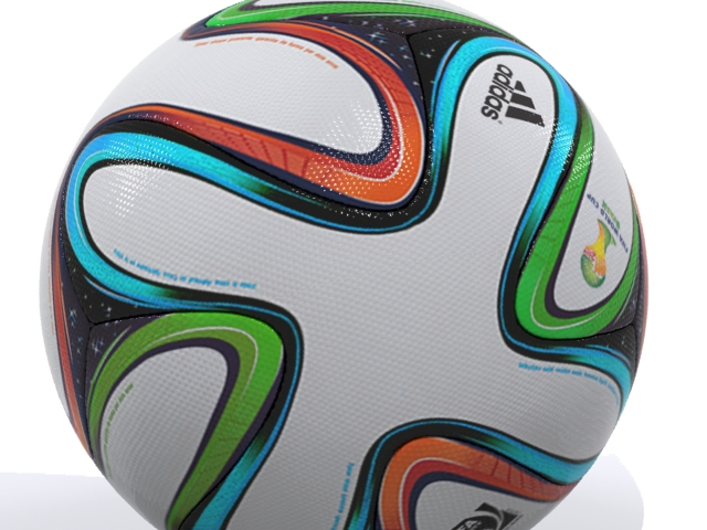 adidas bazucra 3d official match ball world cup 3d model max fbx 163904