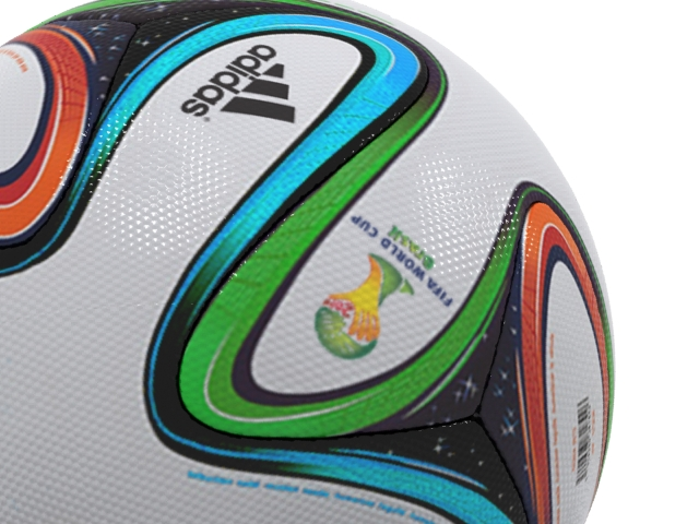 adidas bazucra 3d official match ball world cup 3d model max fbx 163905