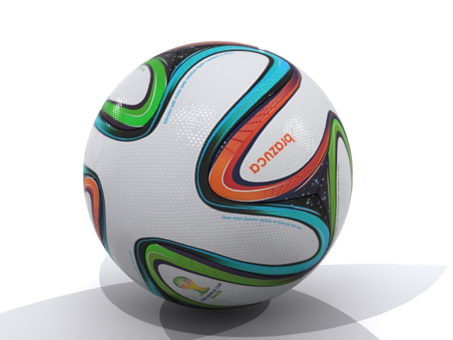 adidas bazucra 3d official match ball world cup 3d model max fbx 163906