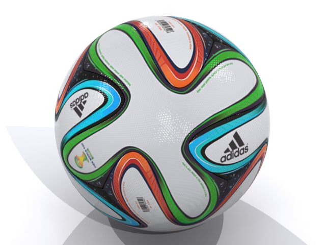 adidas bazucra 3d official match ball world cup 3d model max fbx 163907