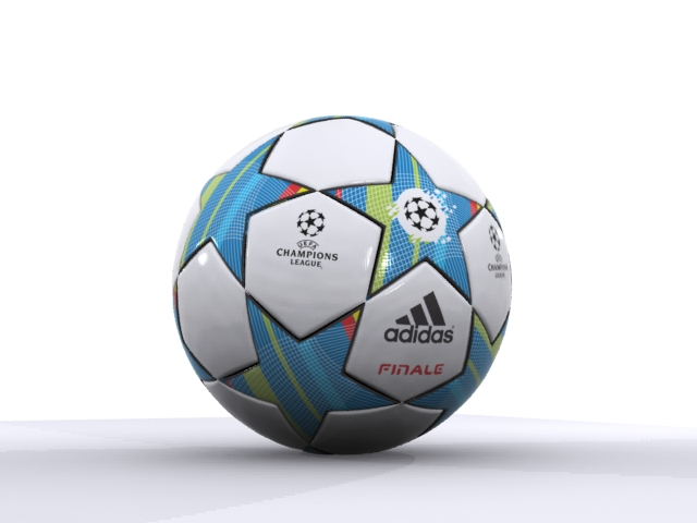 adidas finale 3d official match ball champions 3d model max fbx 163717