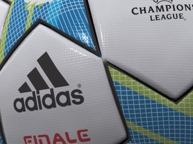 adidas finale 3d official match ball champions 3d model max fbx 163718
